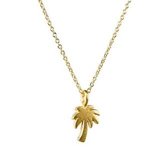 Dogeared   Forever Summer Palm Tree Necklace NEW